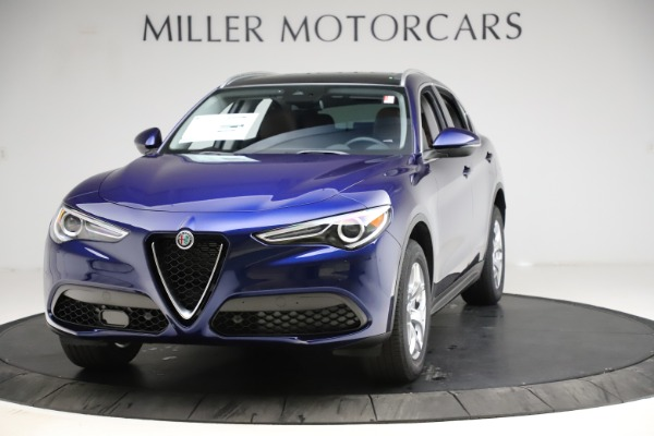 New 2021 Alfa Romeo Stelvio Q4 for sale $49,145 at Rolls-Royce Motor Cars Greenwich in Greenwich CT 06830 1