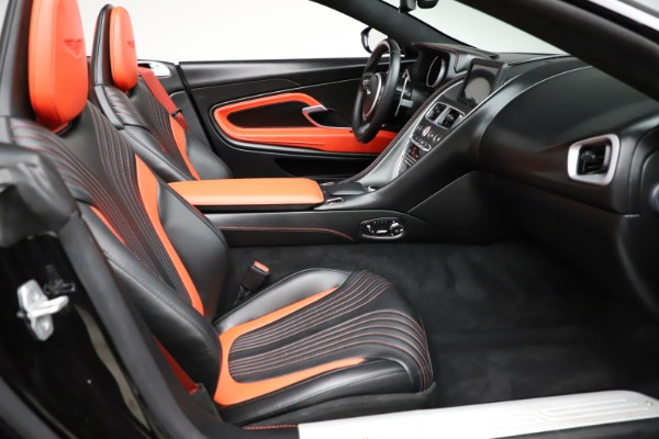Used 2019 Aston Martin DB11 Volante for sale $209,990 at Rolls-Royce Motor Cars Greenwich in Greenwich CT 06830 21