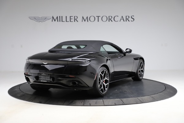 Used 2019 Aston Martin DB11 Volante Volante for sale $204,900 at Rolls-Royce Motor Cars Greenwich in Greenwich CT 06830 26