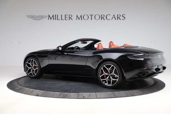 Used 2019 Aston Martin DB11 Volante Volante for sale $204,900 at Rolls-Royce Motor Cars Greenwich in Greenwich CT 06830 3
