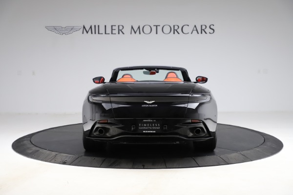 Used 2019 Aston Martin DB11 Volante Volante for sale $204,900 at Rolls-Royce Motor Cars Greenwich in Greenwich CT 06830 5