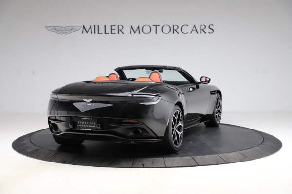 Used 2019 Aston Martin DB11 Volante Volante for sale $204,900 at Rolls-Royce Motor Cars Greenwich in Greenwich CT 06830 6