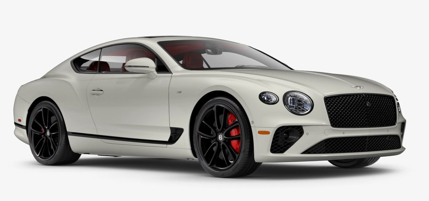 New 2021 Bentley Continental GT V8 for sale $270,170 at Rolls-Royce Motor Cars Greenwich in Greenwich CT 06830 1