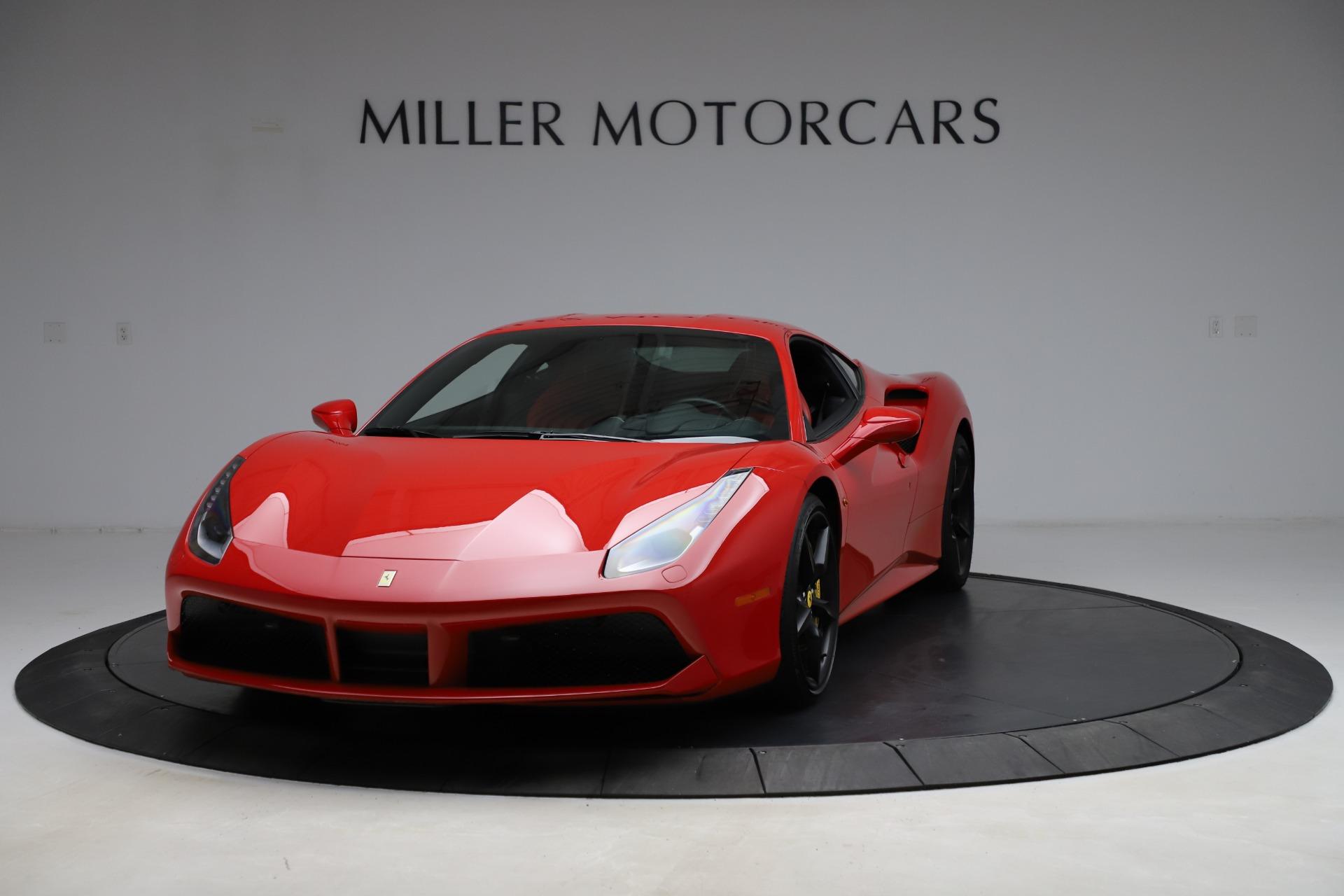 Used 2018 Ferrari 488 GTB for sale $209,900 at Rolls-Royce Motor Cars Greenwich in Greenwich CT 06830 1