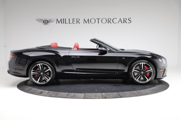 New 2021 Bentley Continental GT V8 for sale $263,905 at Rolls-Royce Motor Cars Greenwich in Greenwich CT 06830 8