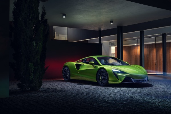 New 2021 McLaren Artura for sale Call for price at Rolls-Royce Motor Cars Greenwich in Greenwich CT 06830 2