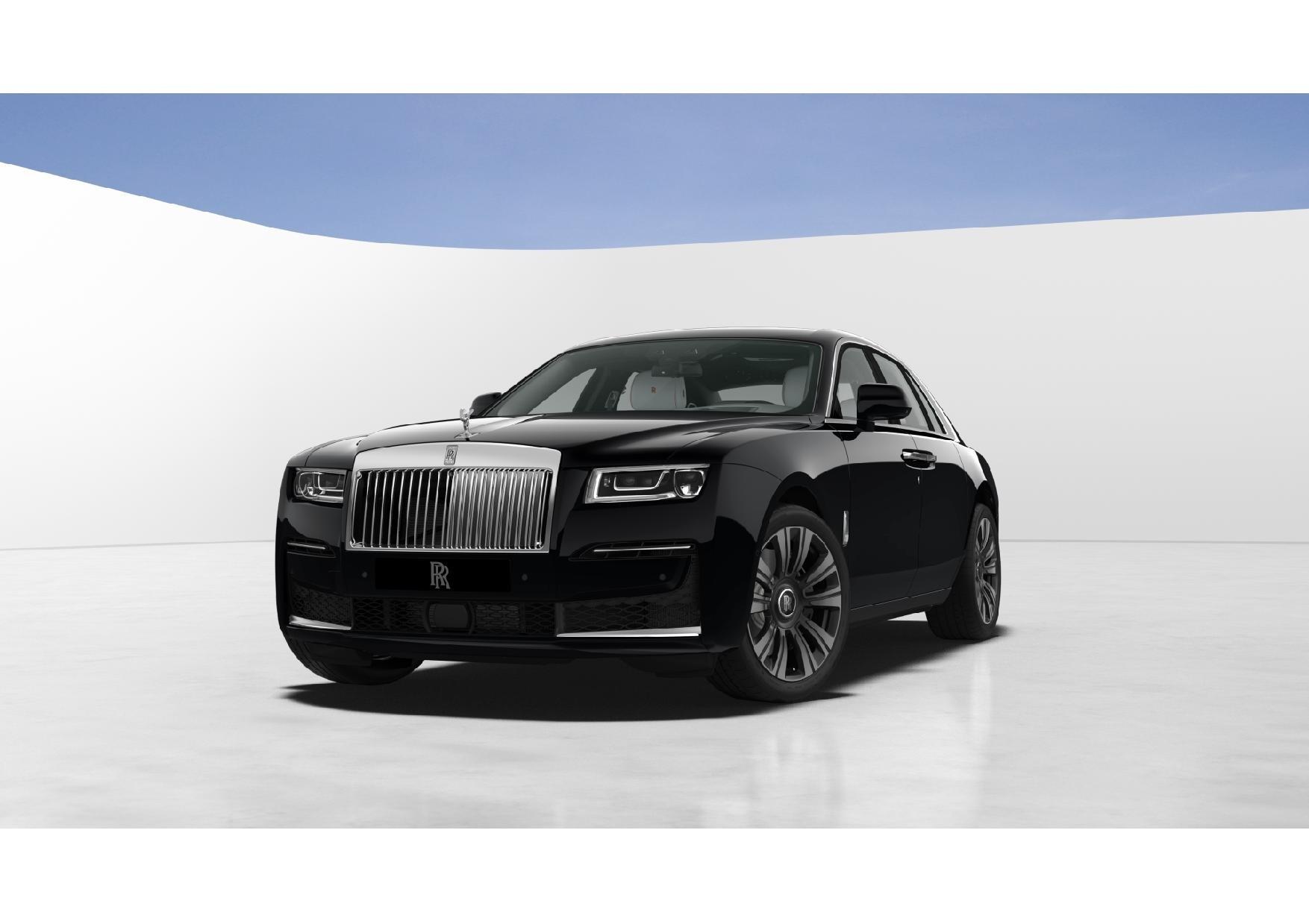 New 2021 Rolls-Royce Ghost for sale $378,350 at Rolls-Royce Motor Cars Greenwich in Greenwich CT 06830 1