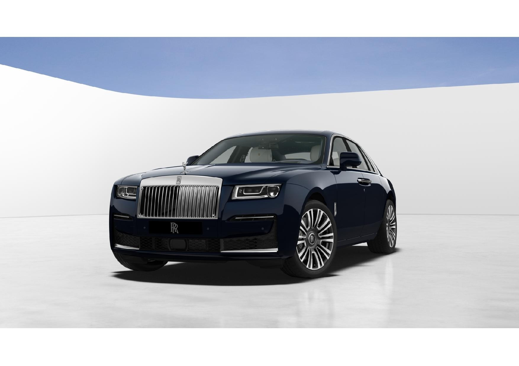 New 2021 Rolls-Royce Ghost for sale $382,250 at Rolls-Royce Motor Cars Greenwich in Greenwich CT 06830 1