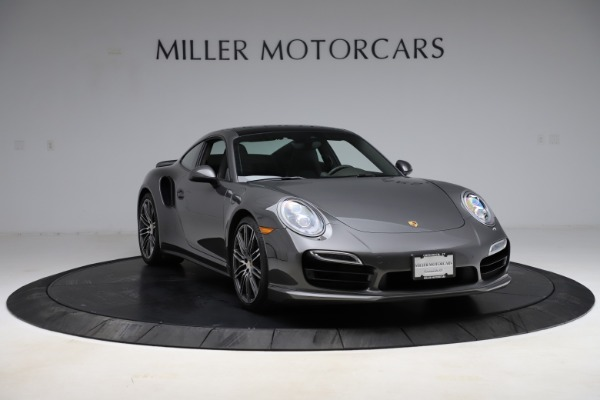 Used 2015 Porsche 911 Turbo for sale $109,900 at Rolls-Royce Motor Cars Greenwich in Greenwich CT 06830 11