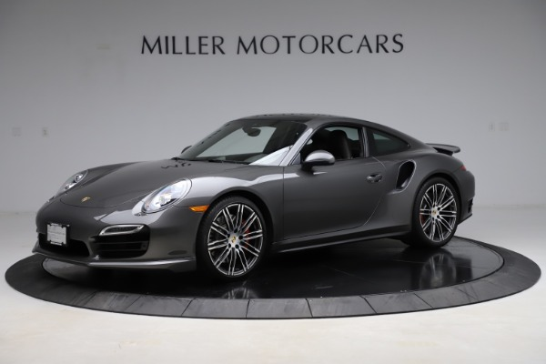 Used 2015 Porsche 911 Turbo for sale $109,900 at Rolls-Royce Motor Cars Greenwich in Greenwich CT 06830 2