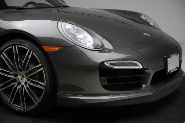 Used 2015 Porsche 911 Turbo for sale $109,900 at Rolls-Royce Motor Cars Greenwich in Greenwich CT 06830 26