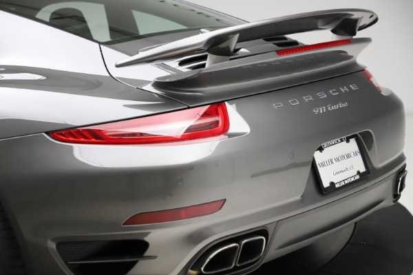 Used 2015 Porsche 911 Turbo for sale $109,900 at Rolls-Royce Motor Cars Greenwich in Greenwich CT 06830 27