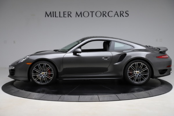 Used 2015 Porsche 911 Turbo for sale $109,900 at Rolls-Royce Motor Cars Greenwich in Greenwich CT 06830 3