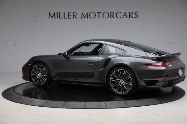 Used 2015 Porsche 911 Turbo for sale $109,900 at Rolls-Royce Motor Cars Greenwich in Greenwich CT 06830 4