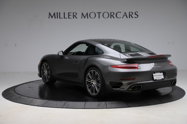 Used 2015 Porsche 911 Turbo for sale $109,900 at Rolls-Royce Motor Cars Greenwich in Greenwich CT 06830 5