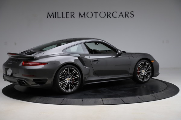 Used 2015 Porsche 911 Turbo for sale $109,900 at Rolls-Royce Motor Cars Greenwich in Greenwich CT 06830 8