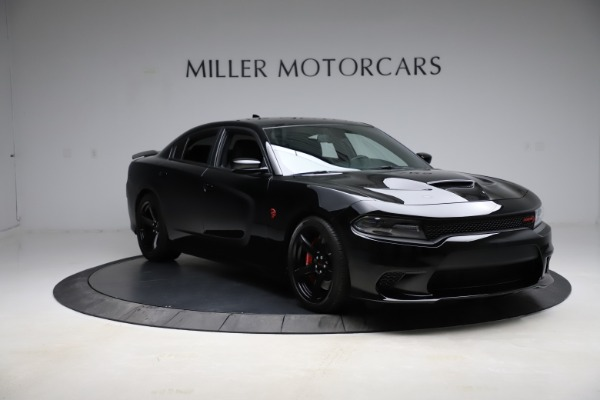 Used 2018 Dodge Charger SRT Hellcat for sale $59,900 at Rolls-Royce Motor Cars Greenwich in Greenwich CT 06830 11