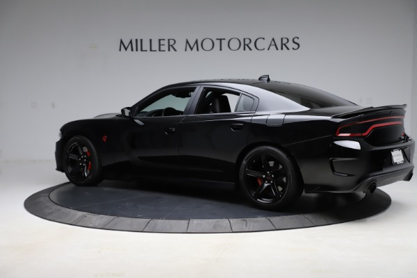 Used 2018 Dodge Charger SRT Hellcat for sale $59,900 at Rolls-Royce Motor Cars Greenwich in Greenwich CT 06830 4