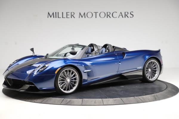 Used 2017 Pagani Huayra Roadster for sale Call for price at Rolls-Royce Motor Cars Greenwich in Greenwich CT 06830 2