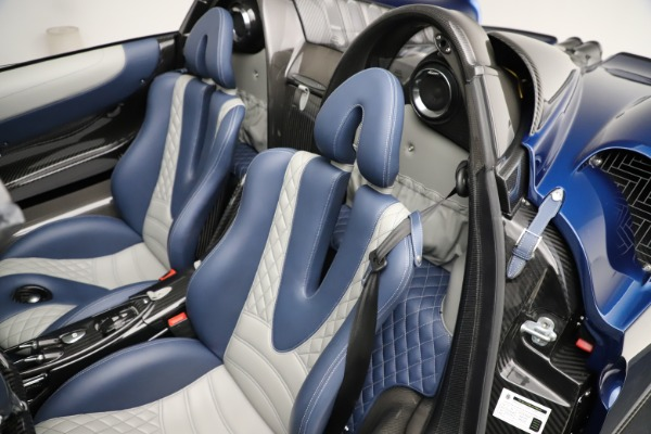 Used 2017 Pagani Huayra Roadster for sale Call for price at Rolls-Royce Motor Cars Greenwich in Greenwich CT 06830 24