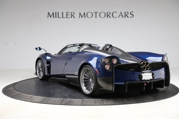 Used 2017 Pagani Huayra Roadster for sale Call for price at Rolls-Royce Motor Cars Greenwich in Greenwich CT 06830 5