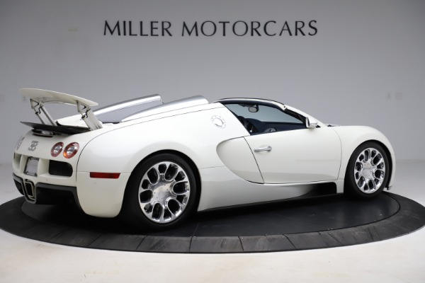 Used 2010 Bugatti Veyron 16.4 Grand Sport for sale Call for price at Rolls-Royce Motor Cars Greenwich in Greenwich CT 06830 8