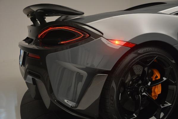 Used 2019 McLaren 600LT Luxury for sale Sold at Rolls-Royce Motor Cars Greenwich in Greenwich CT 06830 27