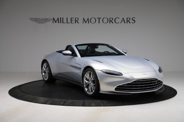 New 2021 Aston Martin Vantage Roadster for sale $184,286 at Rolls-Royce Motor Cars Greenwich in Greenwich CT 06830 10