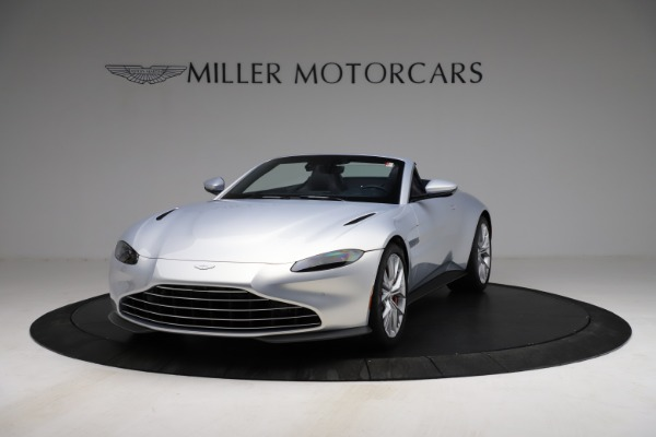 New 2021 Aston Martin Vantage Roadster for sale $184,286 at Rolls-Royce Motor Cars Greenwich in Greenwich CT 06830 12