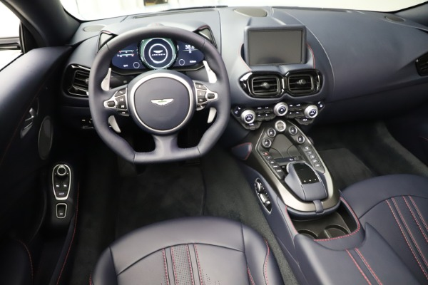 New 2021 Aston Martin Vantage Roadster for sale $184,286 at Rolls-Royce Motor Cars Greenwich in Greenwich CT 06830 13