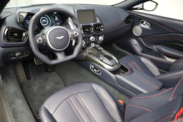 New 2021 Aston Martin Vantage Roadster for sale $184,286 at Rolls-Royce Motor Cars Greenwich in Greenwich CT 06830 14