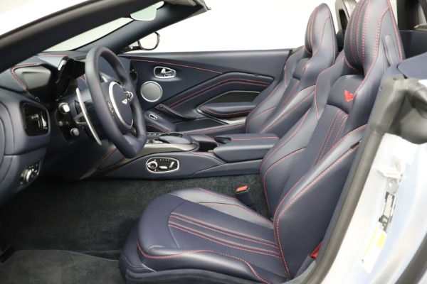 New 2021 Aston Martin Vantage Roadster for sale $184,286 at Rolls-Royce Motor Cars Greenwich in Greenwich CT 06830 15