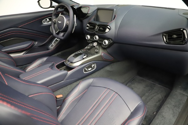 New 2021 Aston Martin Vantage Roadster for sale $184,286 at Rolls-Royce Motor Cars Greenwich in Greenwich CT 06830 18