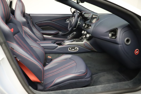 New 2021 Aston Martin Vantage Roadster for sale $184,286 at Rolls-Royce Motor Cars Greenwich in Greenwich CT 06830 19
