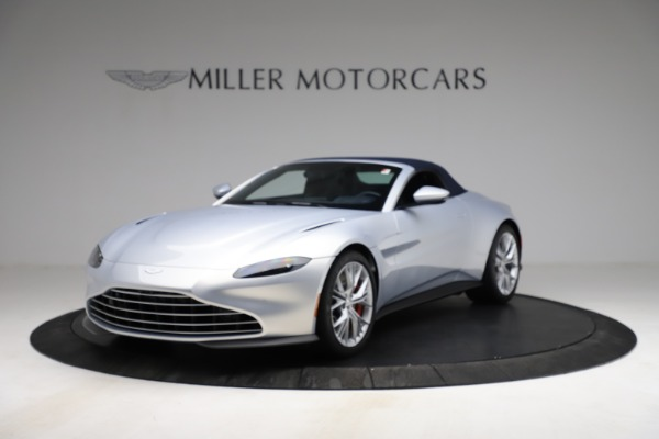 New 2021 Aston Martin Vantage Roadster for sale $184,286 at Rolls-Royce Motor Cars Greenwich in Greenwich CT 06830 21
