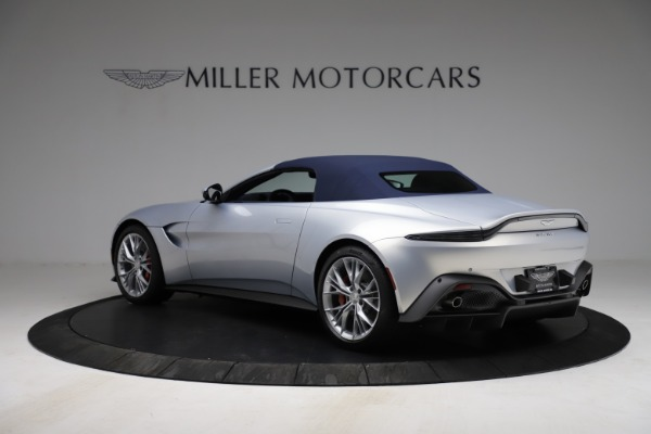 New 2021 Aston Martin Vantage Roadster for sale $184,286 at Rolls-Royce Motor Cars Greenwich in Greenwich CT 06830 23