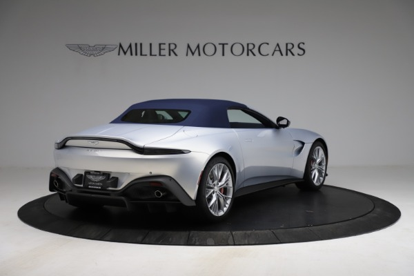 New 2021 Aston Martin Vantage Roadster for sale $184,286 at Rolls-Royce Motor Cars Greenwich in Greenwich CT 06830 24