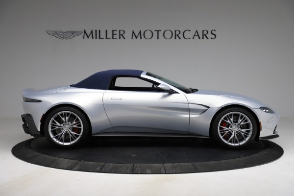 New 2021 Aston Martin Vantage Roadster for sale $184,286 at Rolls-Royce Motor Cars Greenwich in Greenwich CT 06830 25