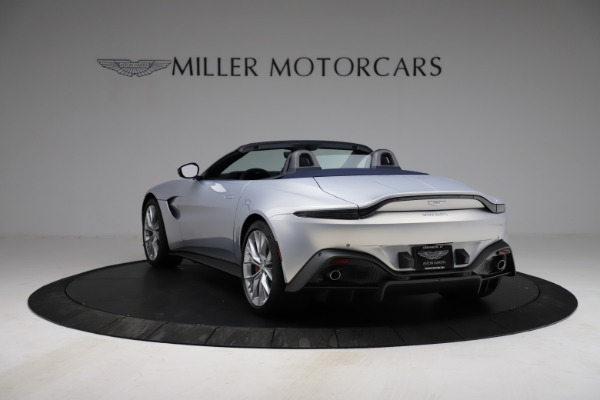 New 2021 Aston Martin Vantage Roadster for sale $184,286 at Rolls-Royce Motor Cars Greenwich in Greenwich CT 06830 4