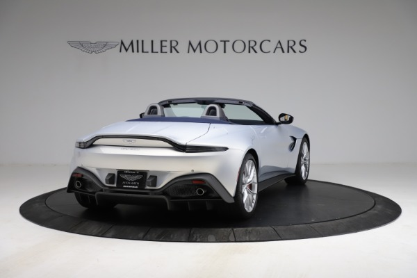 New 2021 Aston Martin Vantage Roadster for sale $184,286 at Rolls-Royce Motor Cars Greenwich in Greenwich CT 06830 6