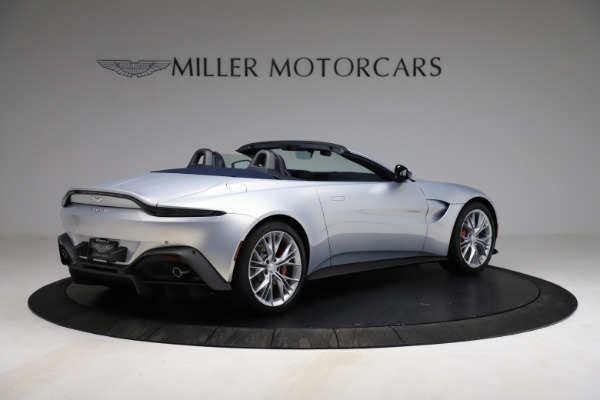 New 2021 Aston Martin Vantage Roadster for sale $184,286 at Rolls-Royce Motor Cars Greenwich in Greenwich CT 06830 7
