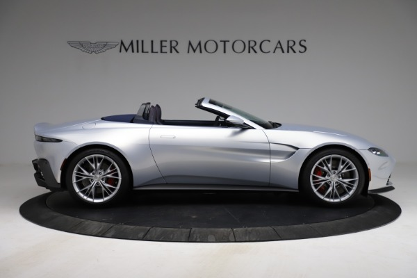New 2021 Aston Martin Vantage Roadster for sale $184,286 at Rolls-Royce Motor Cars Greenwich in Greenwich CT 06830 8