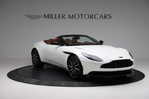 New 2021 Aston Martin DB11 Volante for sale $272,686 at Rolls-Royce Motor Cars Greenwich in Greenwich CT 06830 10