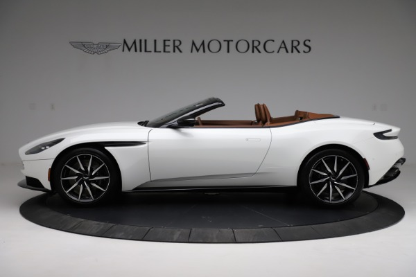 New 2021 Aston Martin DB11 Volante for sale $272,686 at Rolls-Royce Motor Cars Greenwich in Greenwich CT 06830 2