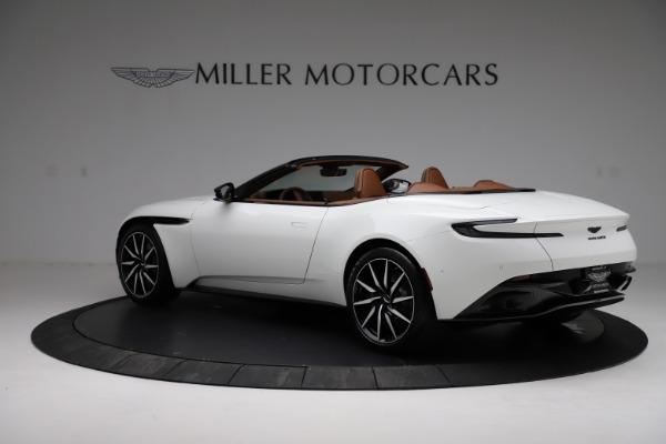 New 2021 Aston Martin DB11 Volante for sale $272,686 at Rolls-Royce Motor Cars Greenwich in Greenwich CT 06830 3
