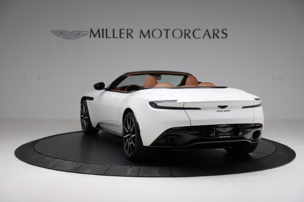 New 2021 Aston Martin DB11 Volante for sale $272,686 at Rolls-Royce Motor Cars Greenwich in Greenwich CT 06830 4