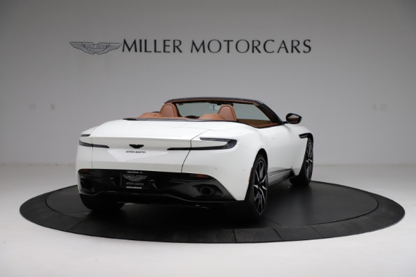 New 2021 Aston Martin DB11 Volante for sale $272,686 at Rolls-Royce Motor Cars Greenwich in Greenwich CT 06830 6