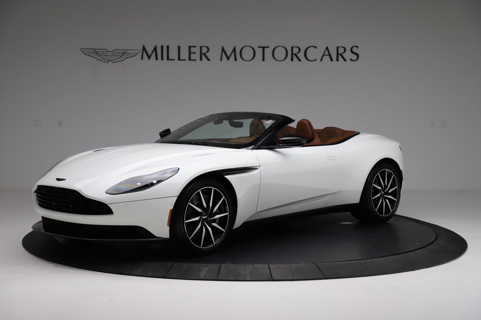 New 2021 Aston Martin DB11 Volante for sale $272,686 at Rolls-Royce Motor Cars Greenwich in Greenwich CT 06830 1