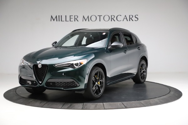 New 2021 Alfa Romeo Stelvio Ti Sport Q4 for sale $56,600 at Rolls-Royce Motor Cars Greenwich in Greenwich CT 06830 2