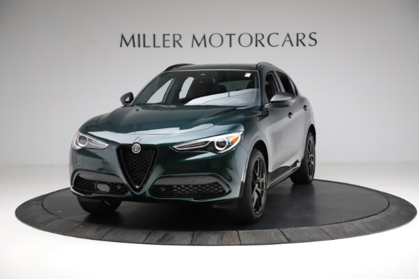 New 2021 Alfa Romeo Stelvio Ti Sport Q4 for sale $56,600 at Rolls-Royce Motor Cars Greenwich in Greenwich CT 06830 1
